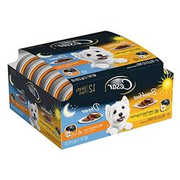 Cesar Variety Pack Canine Cuisine Breakfast and Dinner Canne
