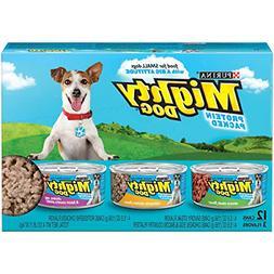 Purina Mighty Dog Variety Packs Wet Dog Food - 24-5.5 oz. Ca