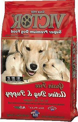 Victor Active Dog & Puppy Formula Grain-Free Dry Dog Food 30