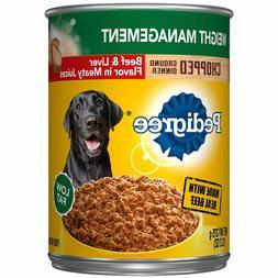 Pedigree Weight Management Adult Wet Dog Food, Beef/ Chicken