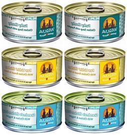 Weruva Grain-Free Canned Dog Food 3 Flavor Variety Bundle, 5
