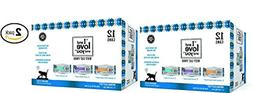 I and love and you Wet Cat Food Variety Pack, 3 Oz. 12 Cans