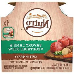 Nutro Wet Dog Food Multipack—Savory Lamb & Vegetable Stew,