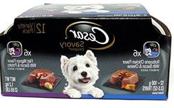 Cesar Wet Dog Food Variety Pack Savory Delights Rotisserie C