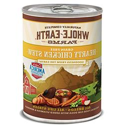 Whole Earth Farms Hearty Chicken Stew, 12.7-Ounce, Pack Of 1