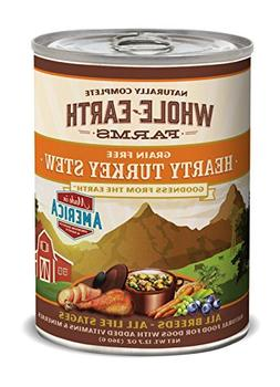 Merrick Whole Earth Farms Hearty Turkey Stew, 12.7-Ounce, Pa