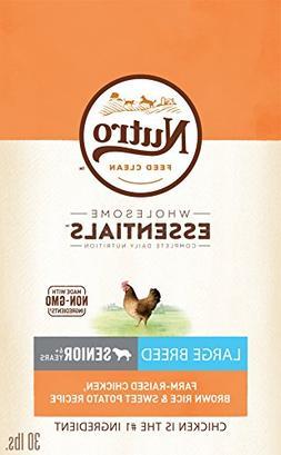 Nutro Wholesome Essentials Senior Large Breed Dry Dog Food F