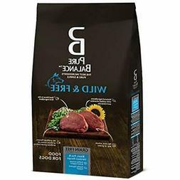 "Pure Balance Wild "" Free Bison, Pea Venison Recipe Food For"