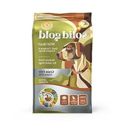 Solid Gold Grain Free Dry Dog Food; Wild Heart with Real Qua