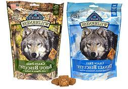 Blue Buffalo Wilderness Dog Treat Variety Pack - 2 Flavors D