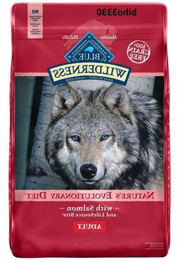 Blue Buffalo Wilderness Grain-Free Adult Dog Food, Salmon, 2