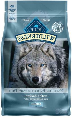 Blue Buffalo Wilderness Grain Free Chicken Recipe Dry Dog Fo