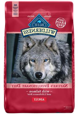 Blue Buffalo Wilderness, Grain Free, Natural Adult Dry Dog F