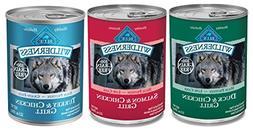 Blue Buffalo Wilderness Grain-Free Wet Adult Dog Food Variet