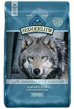Blue Buffalo Wilderness Natural High Protein, Adult Dry Dog