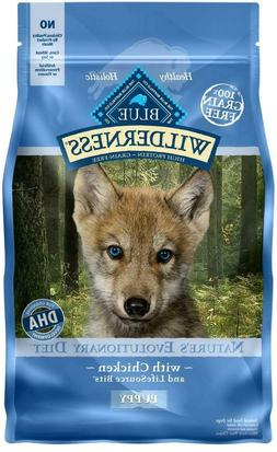 Blue Buffalo Wilderness Puppy Grain Free Chicken Dog Food