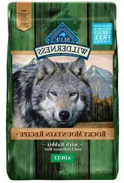 Blue Buffalo Wilderness Rocky Mountain Grain Free Adult Rabb