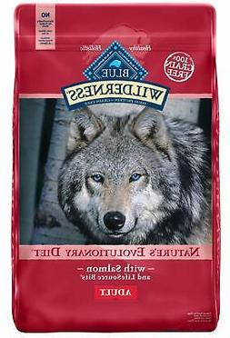 Blue Buffalo Wilderness Salmon Recipe Grain-Free Dry Dog Foo