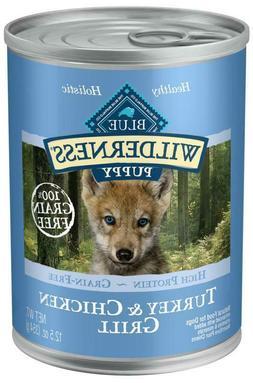 Blue Buffalo Wilderness Turkey & Chicken Grill Puppy Canned
