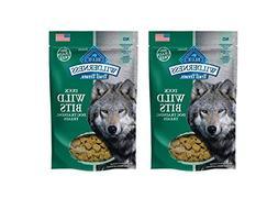 2 Pack Blue Buffalo Wilderness Wild Bits. Soft Grain Free Tr