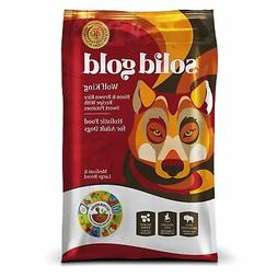 Solid Gold Wolf King Holistic Dry Dog Food, Bison, Brown Ric