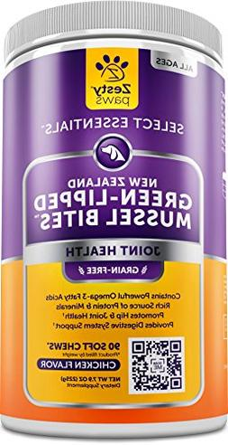 New Zealand Green Lipped Mussel Chewable Treats for Dogs - W