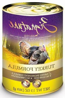 zignature turkey limited ingredient formula canned dog